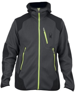 Bunda Spyder Men `s Stated Softshell Hybrid Mid WT Core Sweater 132610-022