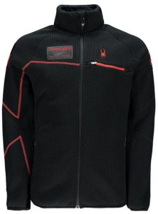 Sveter Spyder Men `s Alps Full Zips Mid WT Core 157360-001