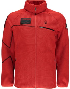Sveter Spyder Men `s Alps Full Zips Mid WT Core 157360-620