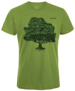 Tričko Salewa MAGIC WOOD CO M S/S TEE 24621-5650