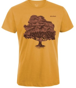 Tričko Salewa MAGIC WOOD CO M S/S TEE 24621-7370