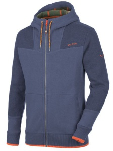 Sveter Salewa ARMENTAROLA CO M FULL-ZIP HOODY 25132-8671