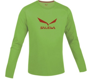 Tričko Salewa SOLIDLOGO CO M L/S TEE 25279-5961