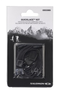Šnúrky Salomon Quicklace KIT Black 326672