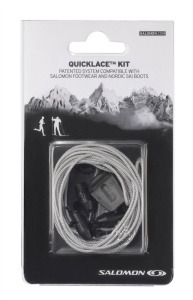 Šnúrky Salomon Quicklace KIT Grey 326676