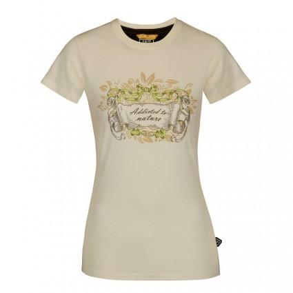 4a9af017de6 Tričko Zajo Corrine Lady T-shirt Egret