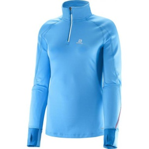 Rolák Salomon TRAIL RUNNER WARM LS ZP TEE W 371005