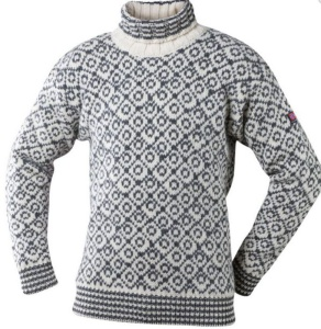 Sveter Devold Svalbard sweater high-neck 396-390 020