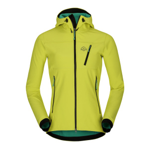 Bunda Zajo Volcano Tech Lady JKT green lime