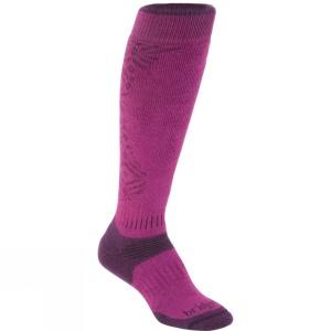 Ponožky Bridgedale All Mountain Women's 352 berry / plum