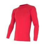 Pánske triko Sensor Merino Wool Active červené 12110019