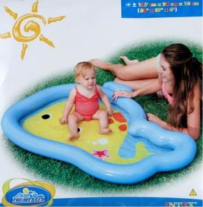 Nafukovací bazén Intex – veľryba 127 x 94 x 10cm