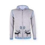 Dámsky sveter Kama 5085 109 šedý