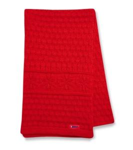 Pletená šál Kama S13 104 červená