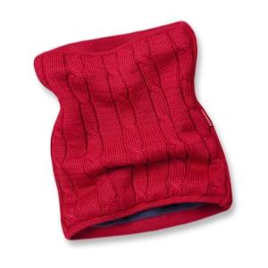 Pletený nákrčník Kama S15 104 červená