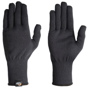 Rukavice Lowe Alpine Stretch Knit Glove čierne
