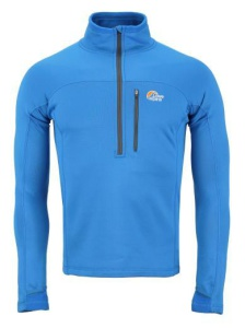 Rolák Lowe Alpine Powerstretch Zips Top modrá