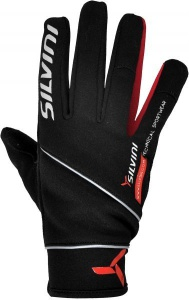 Pánske rukavice Silvini Montasio UA442M black-red