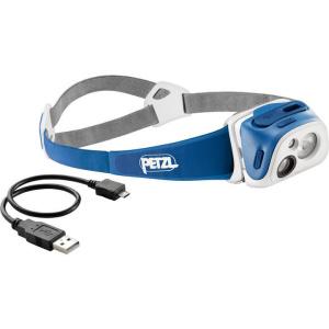 čelovka Petzl Tikka R+ E92 RB modrá