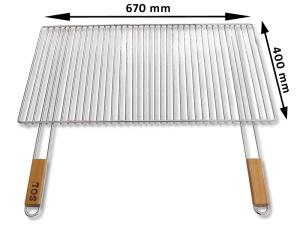 Grilovaci rošt SOL krbový 5x67x40 cm – 70.4067MBT