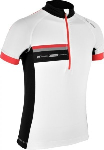Detský cyklistický dres Silvini Livenza CD485 white