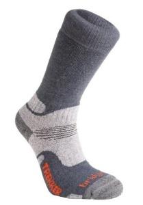 Ponožky Bridgedale WoolFusion Trekker CuPED gunmetal/866