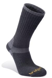 Ponožky Bridgedale Merino Hiker black/845
