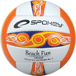 Volejbalový lopta Spokey BEACHFUN oranžový č.5