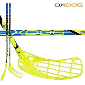 Florbalová palica Oxdog CURVE 30 yellow / blue 87 ROUND NB´14