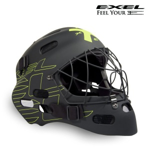 Helma EXEL G1 HELMET Senior black / yellow