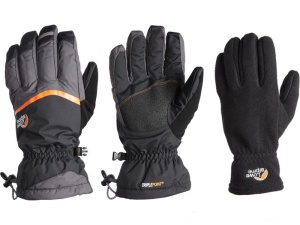 Rukavice Lowe Alpine Storm 3-in-1 Glove čierna