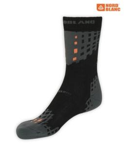 Ponožky NORDBLANC NBSX2306 CRN