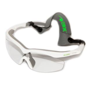 Okuliare EXEL GOGGLES HURRICANE white / neon green senior