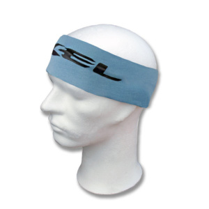 Potítko EXEL ELASTIC WIDE HEADBAND lt.blue/black