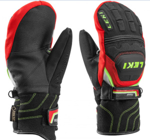 Rukavice LEKI WC Race Coach Flex S GTX Junior Mitten 634-81121
