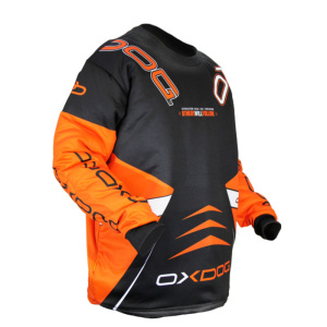 Brankársky dres Oxdog VAPOR GOALIE SHIRT black / orange