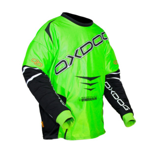 Brankársky dres Oxdog GATE GOALIE SHIRT green / black
