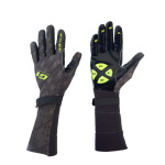 Brankárske rukavice EXEL G1 GOALIE GLOVES SR BLACK / YELLOW