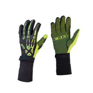 Brankárske rukavice EXEL G2 GOALIE GLOVES black / yellow