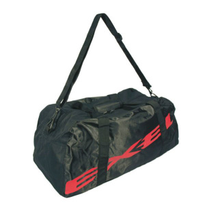 Taška EXEL GIANT LOGO DUFFLEBAG black / red