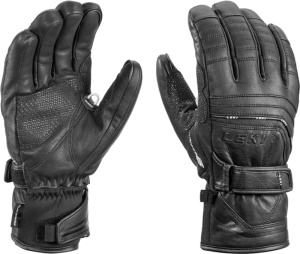 Rukavice LEKI Aspen S mf touch black 634-82103