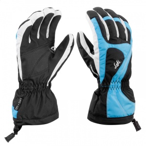 Rukavice LEKI Falera S Girl black-cyan-white 634-88101