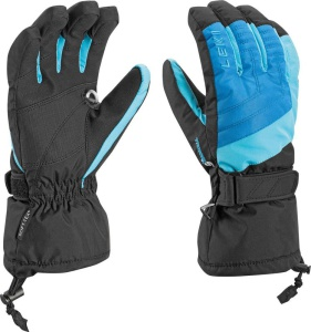 Rukavice LEKI Flims S Junior Boy royal-cyan-black 634-88001