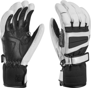 Rukavice LEKI Griffin Pro Lady S white-black 634-80452