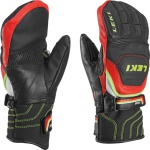 Rukavice LEKI Worldcup Race Flex S Junior Mitten black-red-white-yellow 634-80051