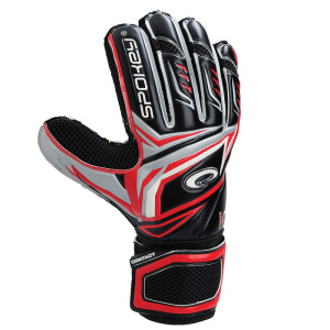CONTACT Brankárske rukavice červené – všetky veľkosti v detailu