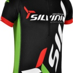 Juniorský cyklistický dres Silvini Team CD403 black