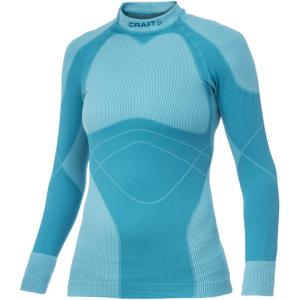 Tričko CRAFT Warm Crewneck 1901632-2318 – modrá svetlá