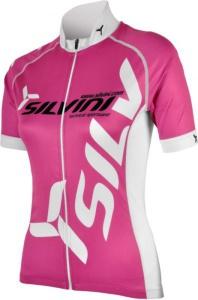Dámsky cyklistický dres Silvini Team WD258 fuchsia