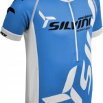Juniorský cyklistický dres Silvini Team CD403 blue